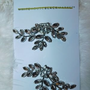 White House Black Market Crystal Swag Shoe Clip